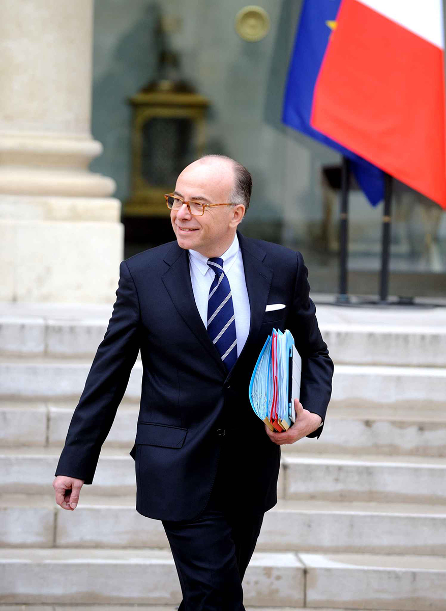 Bernard Cazeneuve à l'Elysée - Citation protection établissements scolaires - PrevInter