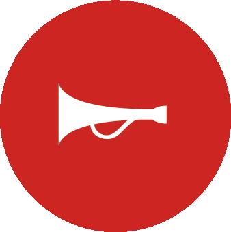 Icône Corne de Brume - Alarme Confinement - PrevInter
