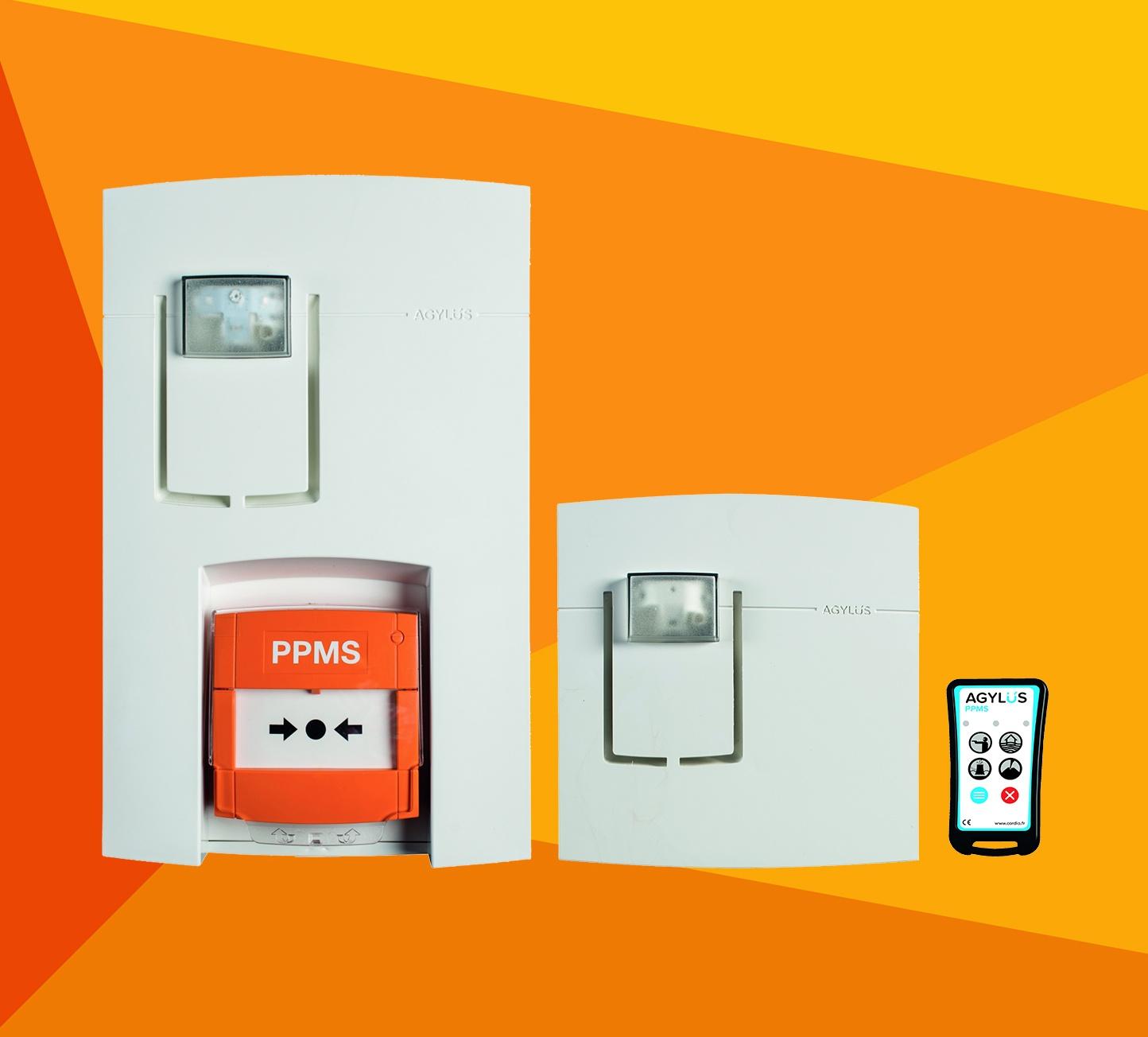Alarme confinement - Sirène - Télécommande - PPMS